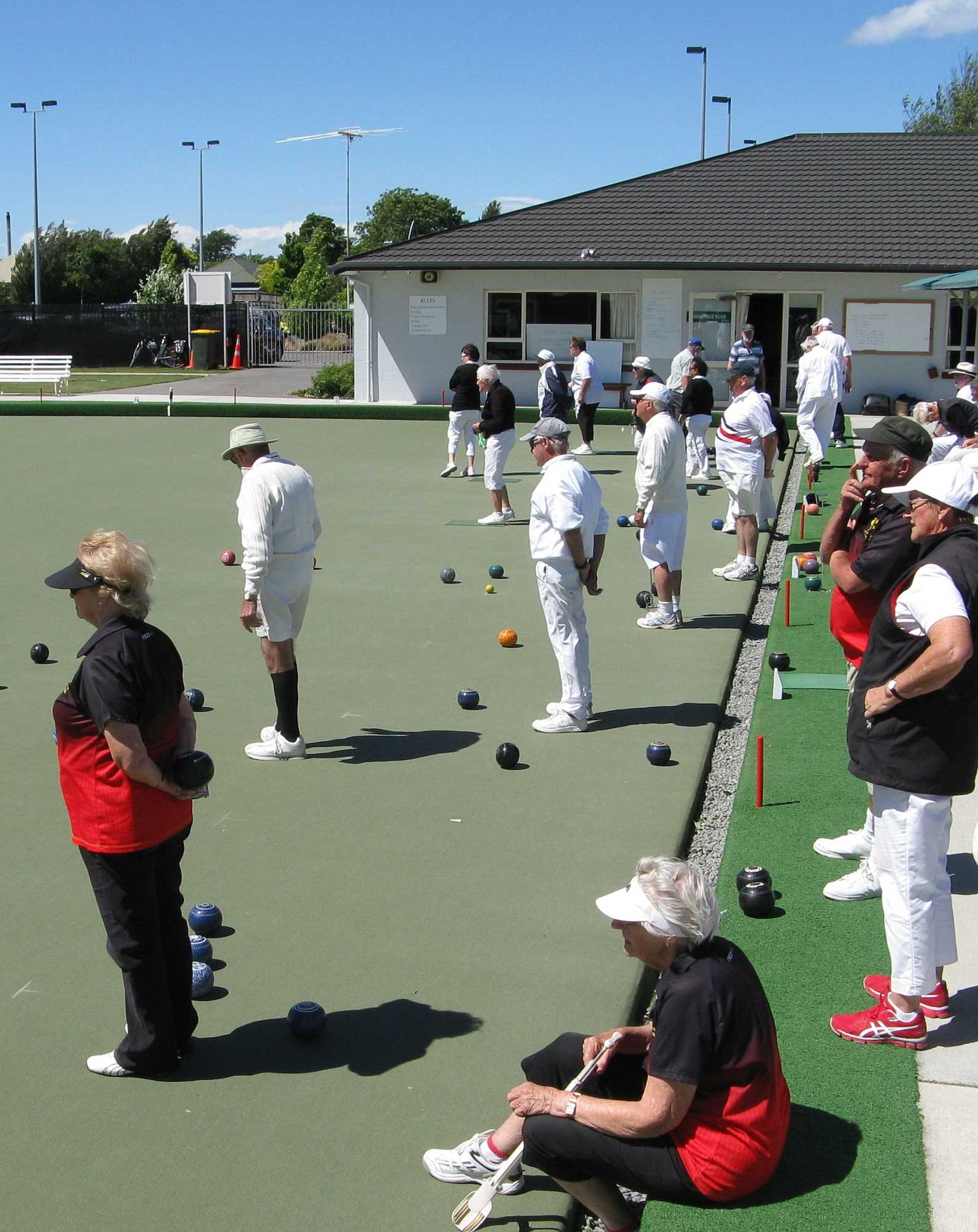 The Lincoln Sunday Mixed Fours Tournament