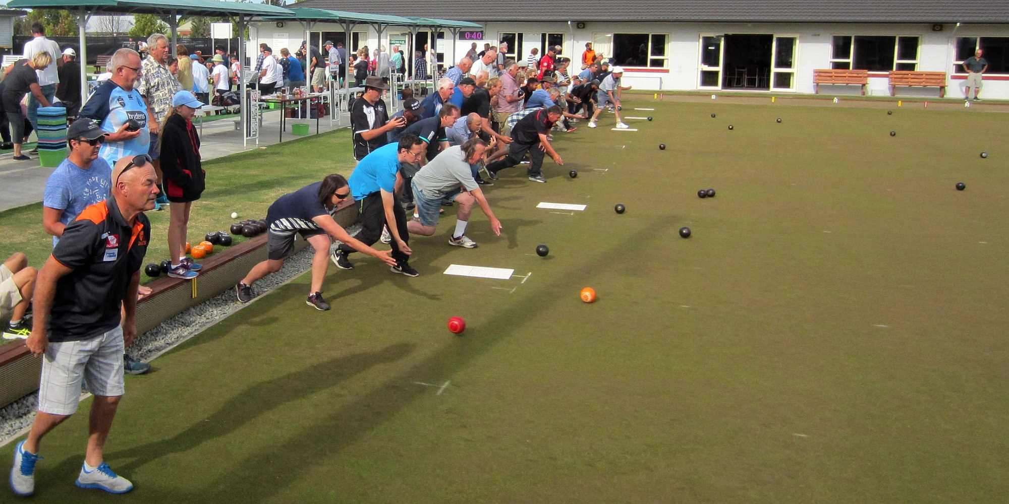 Community Bowls - The Start with the Ditch to Ditch - 21 Jan