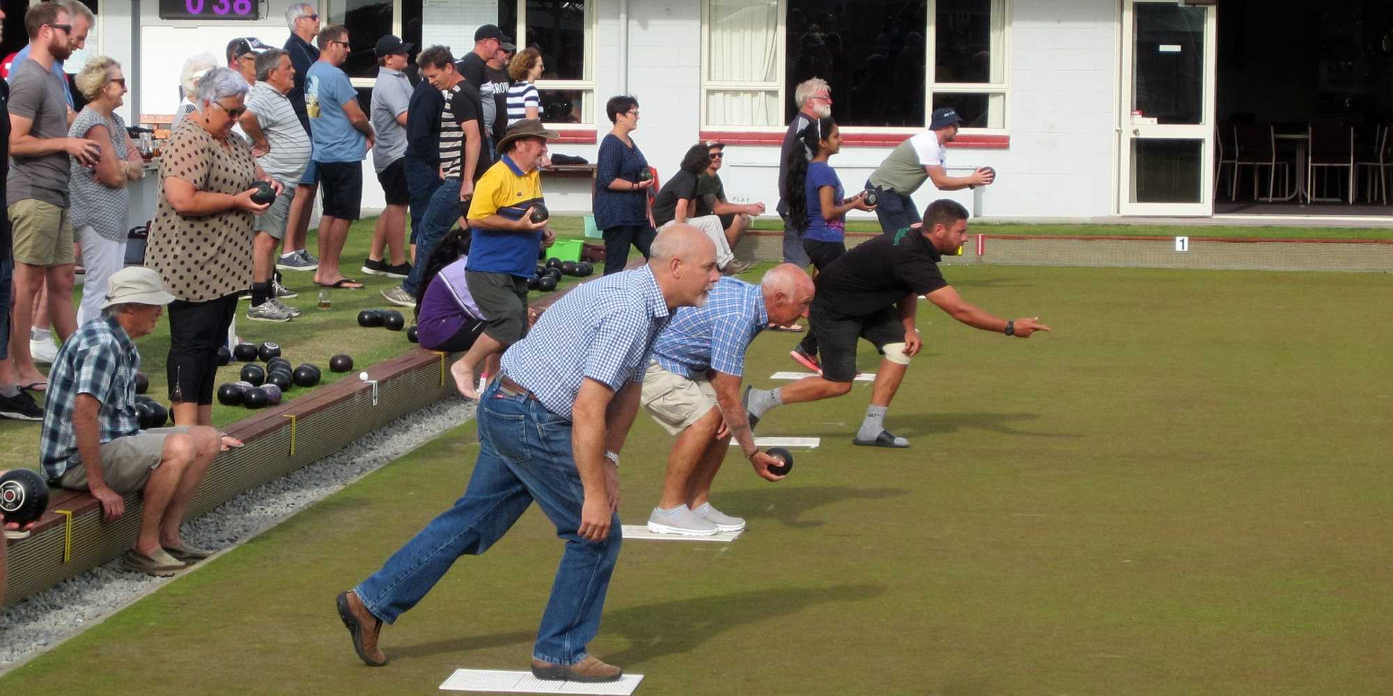 Community Bowls - The First Game is Underway - 21 Jan
