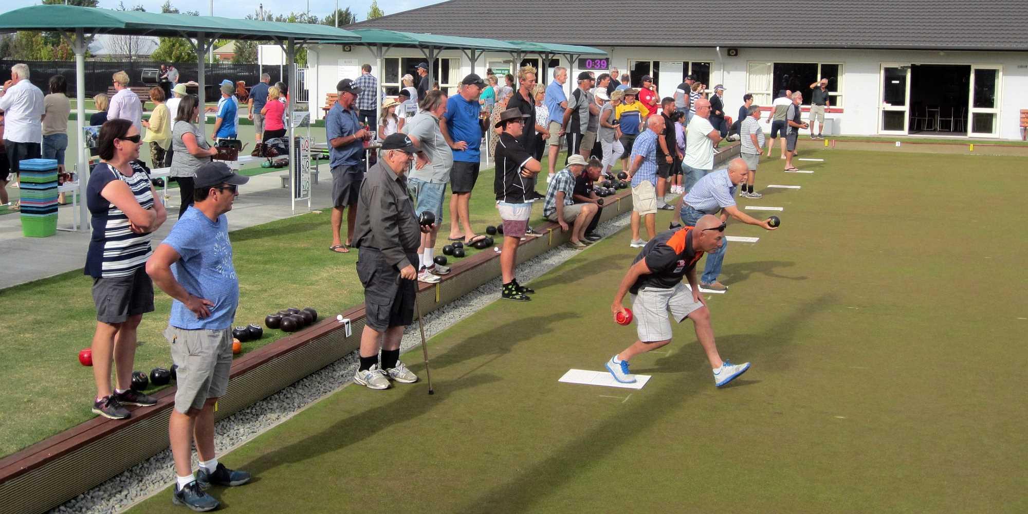 Community Bowls - Stiff Competition - 21 Jan