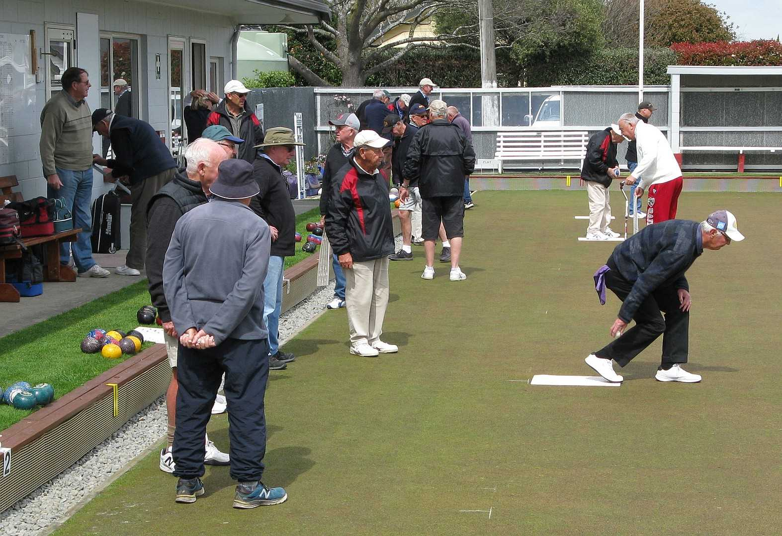 Mens Day Bowls - Six Rinks of Triples