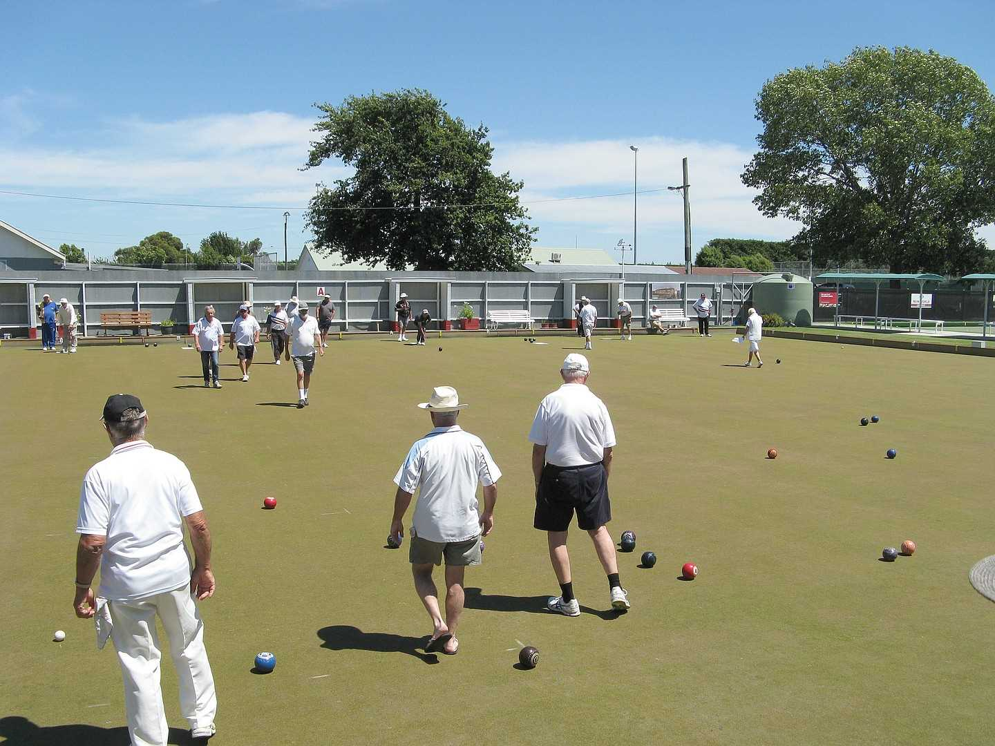 A Good Turnout for the Wednesday Tournament - 16 Jan