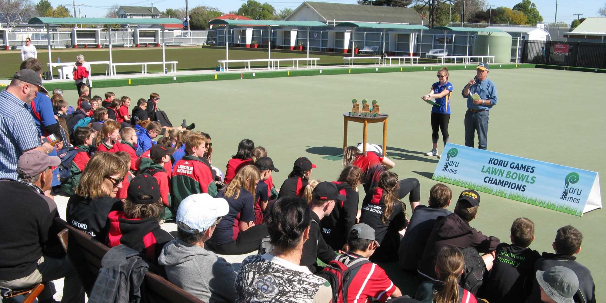 The Koru Games 2019 - The Award of Medals