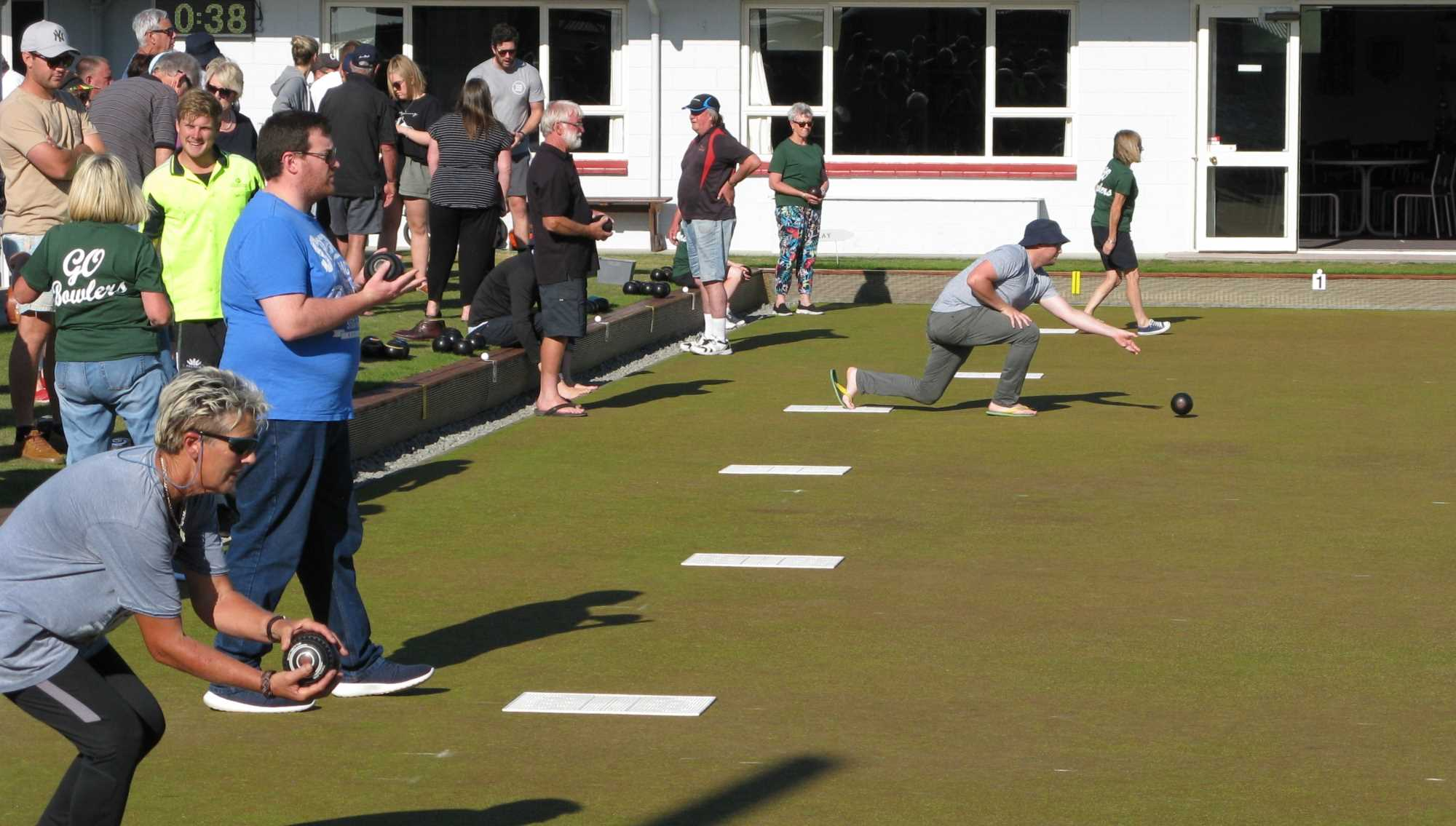 Community Bowls 20 Jan 2020. The first weeks bowling begins.