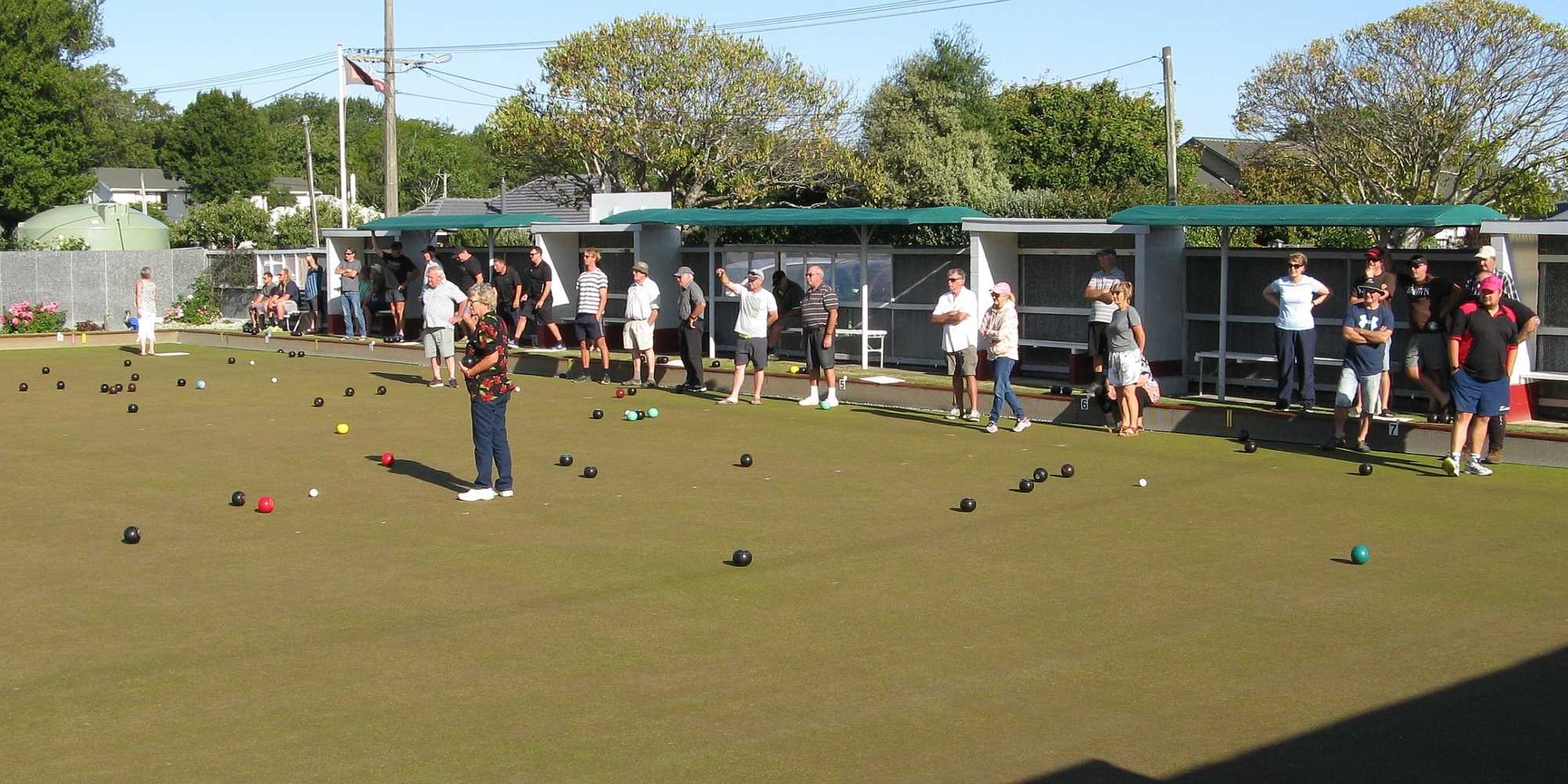Community Bowls 10 February 2020 - Great Bowling in the Evening Sun