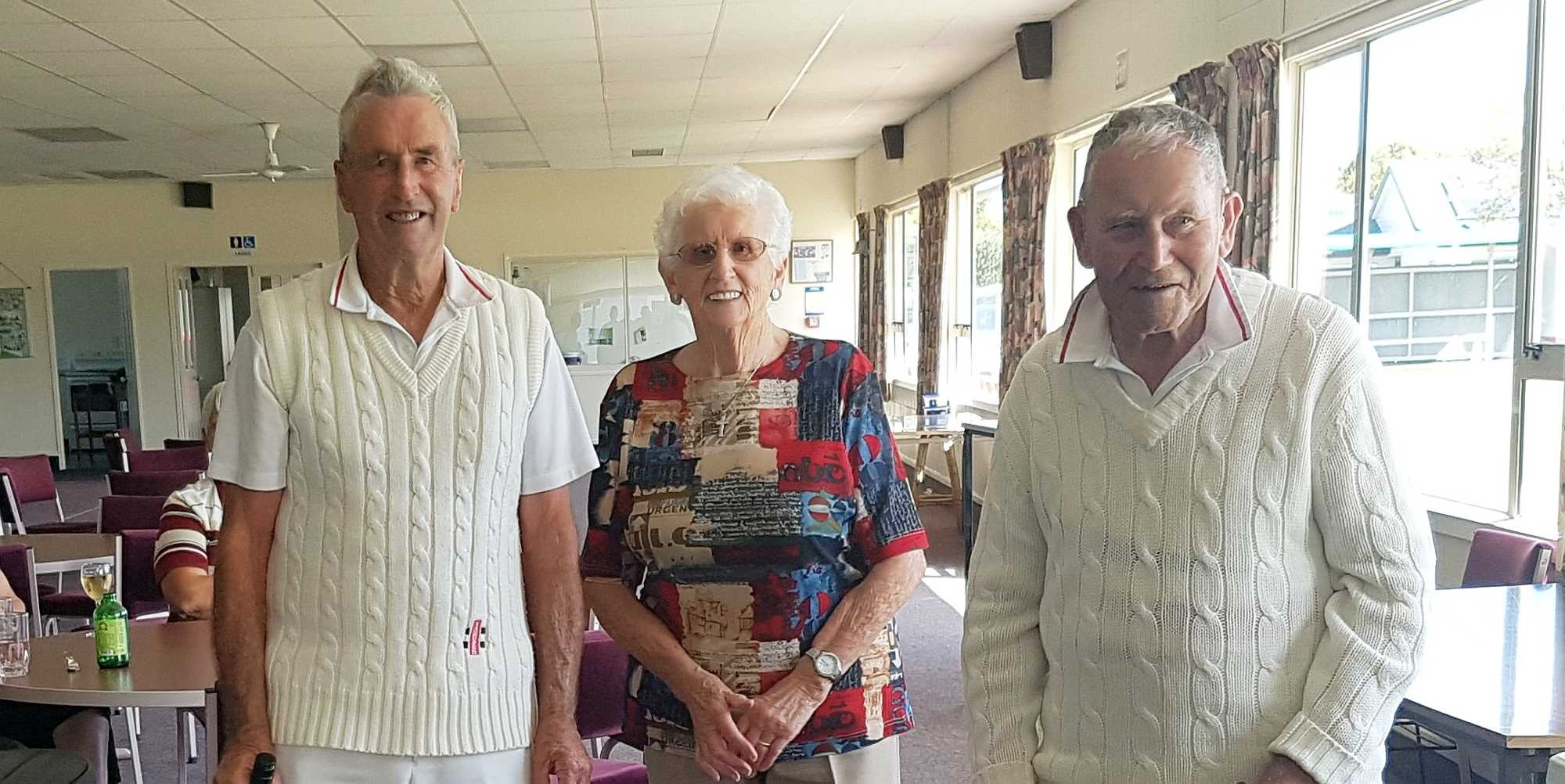 Over 70's & 80's Tournament - The Over 80's Pairs Winners