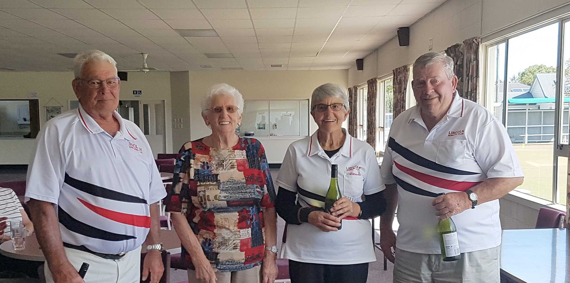 Over 70's and 80' Tournament - The Over 70's Triples Winners