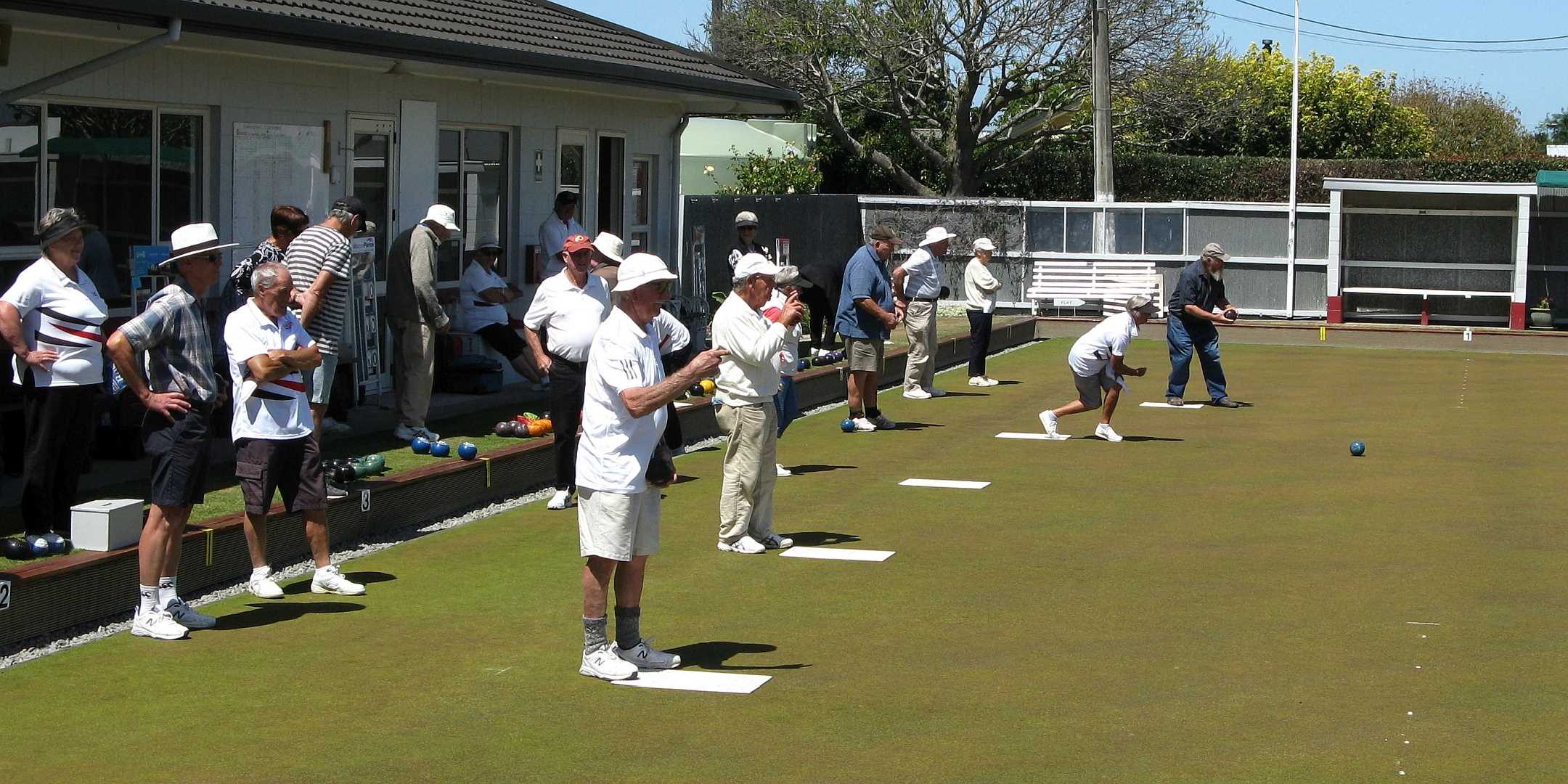 The Club Over 70's and 80's Tournament - 6 February 2021 - The Start of Play
