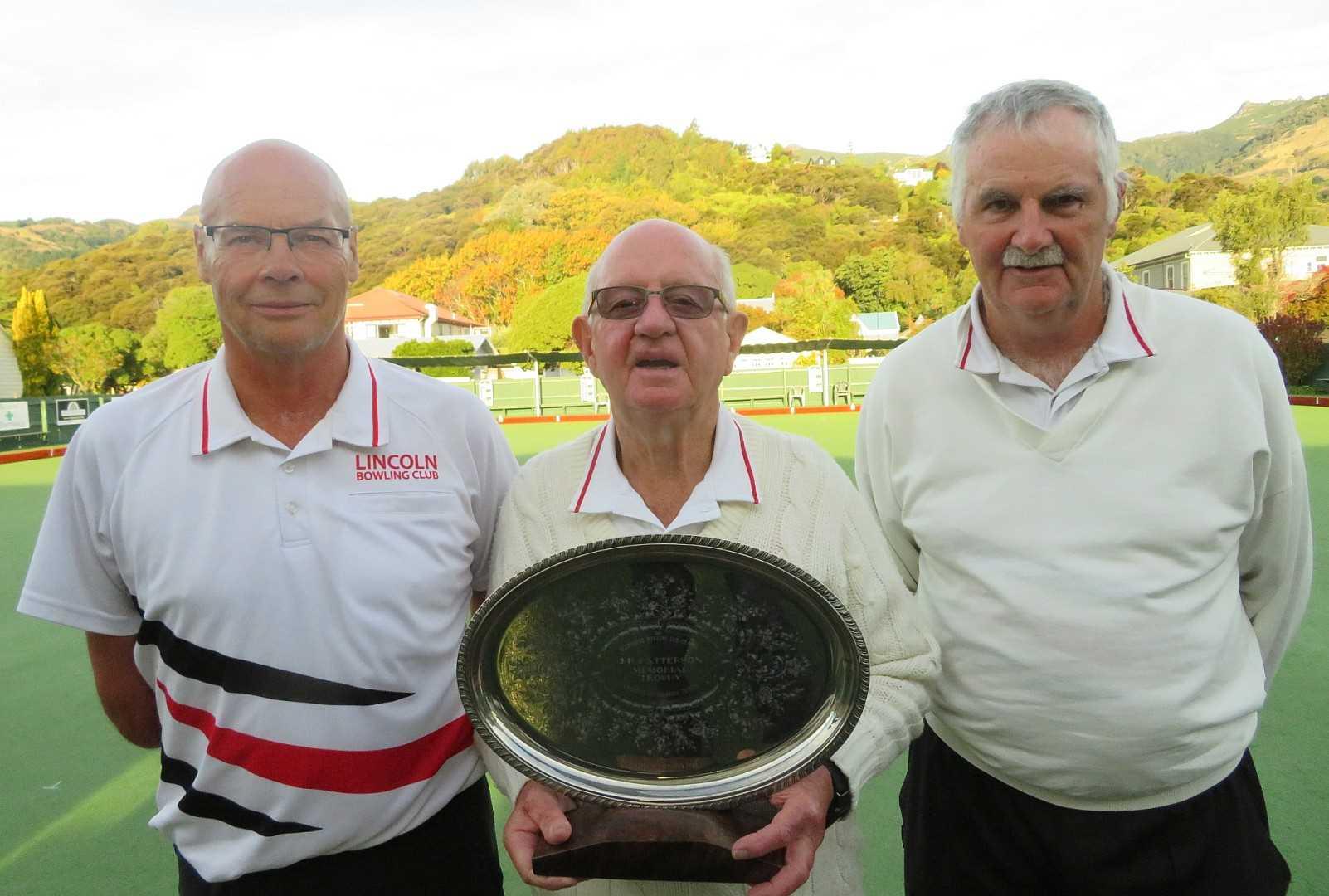 Ellesmere Champions of Champions Men's Triples 2021 - Paul Williams, David Williams & David Pugh-Williams